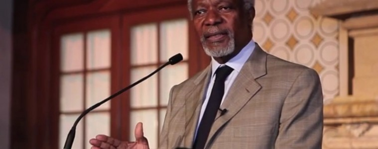 Kofi Annan Importance of Youth Leadership